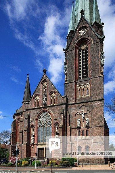 D-Oberhausen  D-Oberhausen-Osterfeld  Lower Rhine  Ruhr area  Rhineland  North Rhine-Westphalia  NRW  church Saint Pankratius  catholic church.