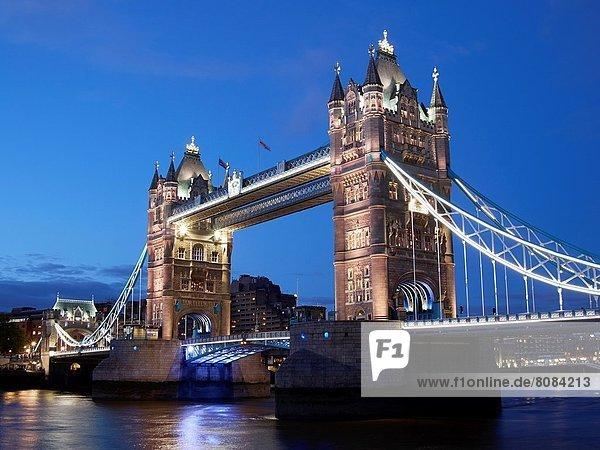 Tower bridge  River thames  London  England  U.K.
