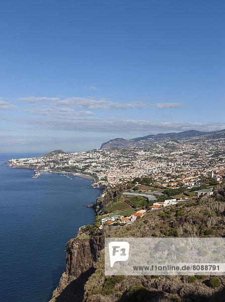 Satadtansicht von Funchal