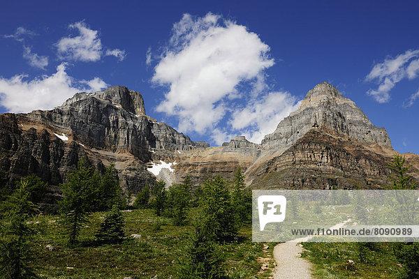 Wanderweg in den Rocky Mountains