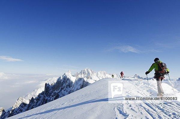 Frankreich  Europa  Französische Alpen  Chamonix  Haute-Savoie