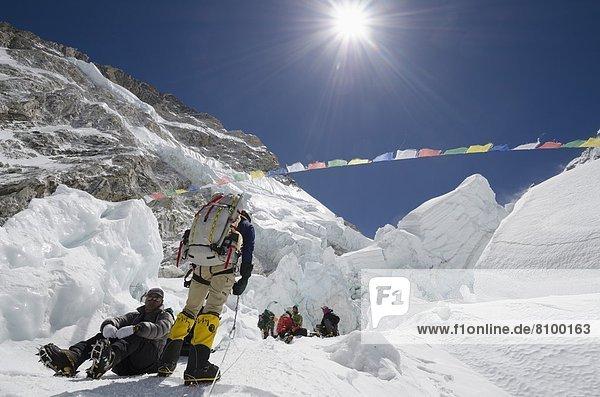Mount Everest Sagarmatha Himalaya UNESCO-Welterbe Asien Nepal