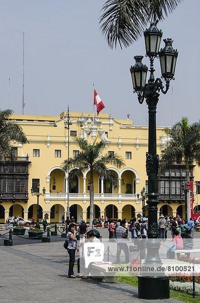 Lima  Hauptstadt  Peru  Südamerika