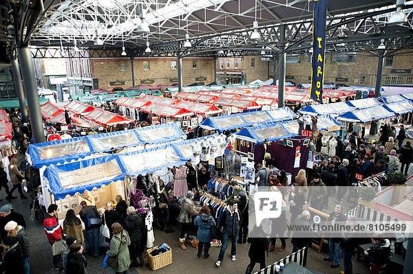 Messestand  Osten  Großbritannien  London  Hauptstadt  innerhalb  Markt