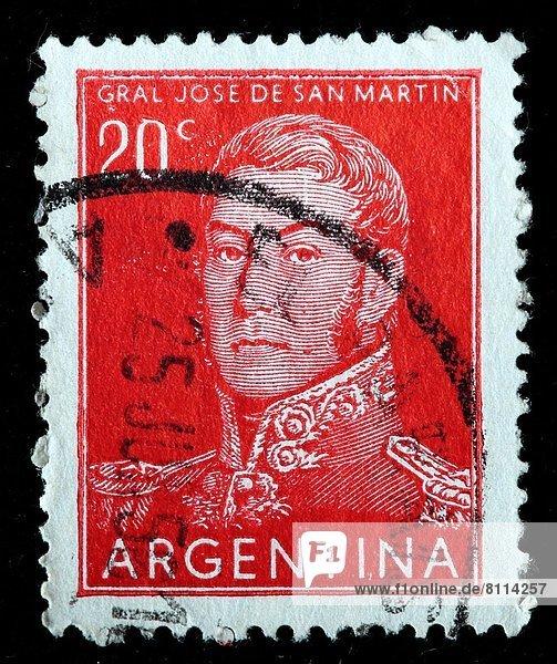 Argentinien  Briefmarke