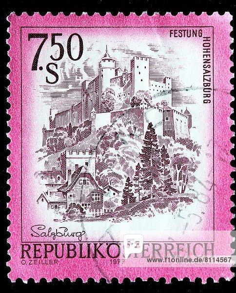 Österreich  Briefmarke