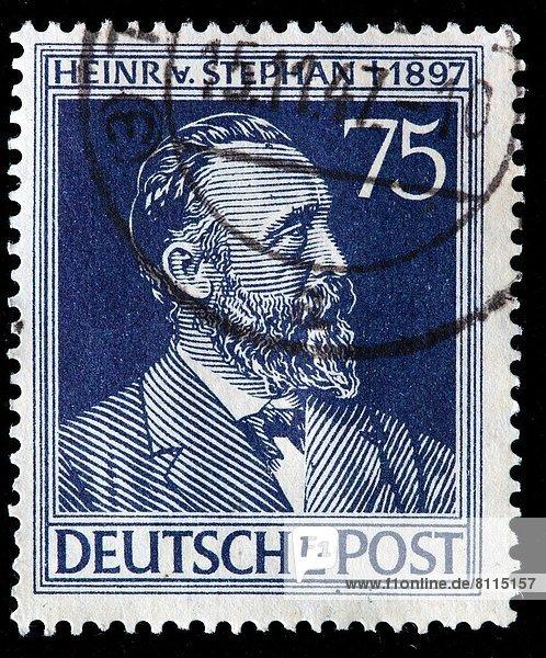 deutsch  Deutschland  Briefmarke