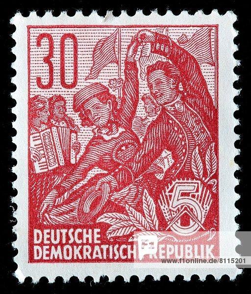 Deutschland  Briefmarke