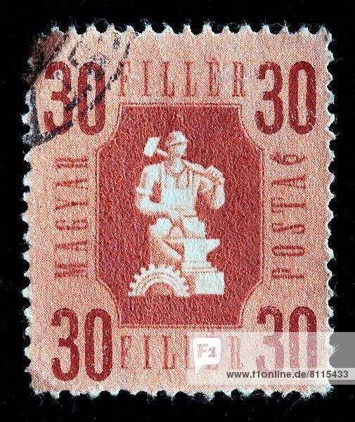 Ungarn  Briefmarke