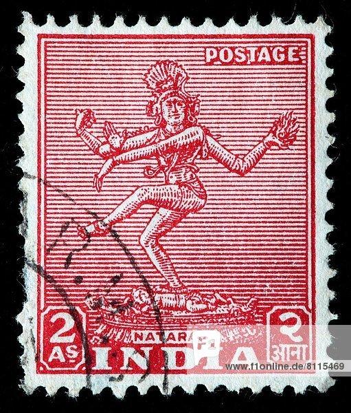 Indien  Briefmarke