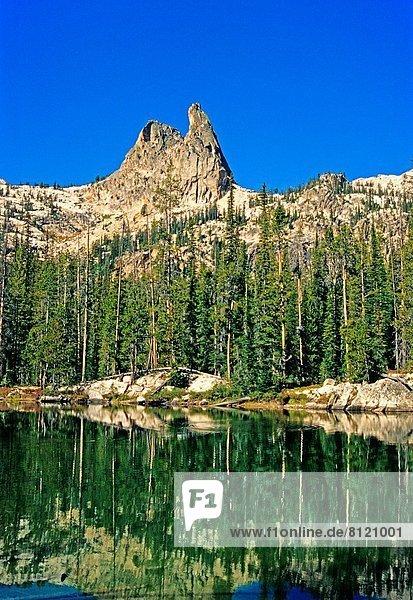 hoch  oben  Berg  Landschaftlich schön  landschaftlich reizvoll  Zukunft  Mittelpunkt  Idaho