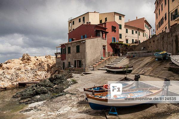 Fishing boats Marciana  Elba Island  Italy