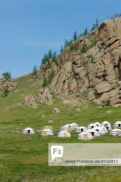 Nationalpark Mongolei Gers