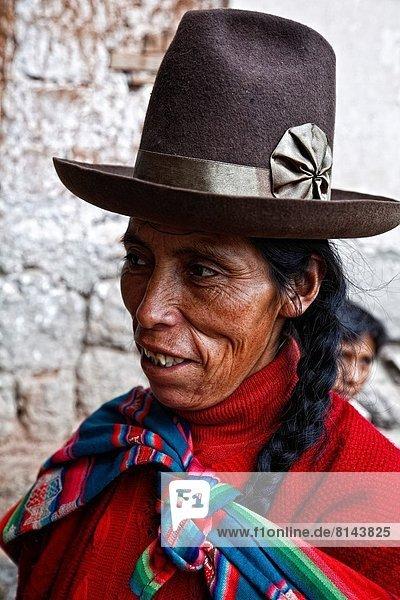 Frau  Tal  Heiligkeit  Peru