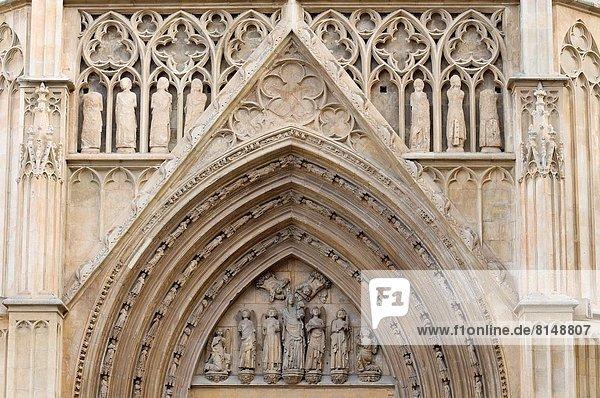 Tür Kathedrale Close-up Spanien