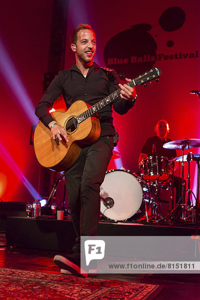 The British singer and songwriter James Morrison live at the Blue Balls Festival  Luzerner Saal  KKL venue