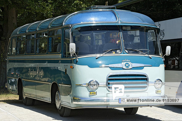 Vintage Setra S9 touring coach  built in 1960