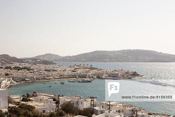 Griechenland  Mykonos  Stadtansicht