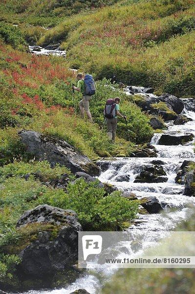 nahe  wandern  Backpacker  Alaska  Anchorage
