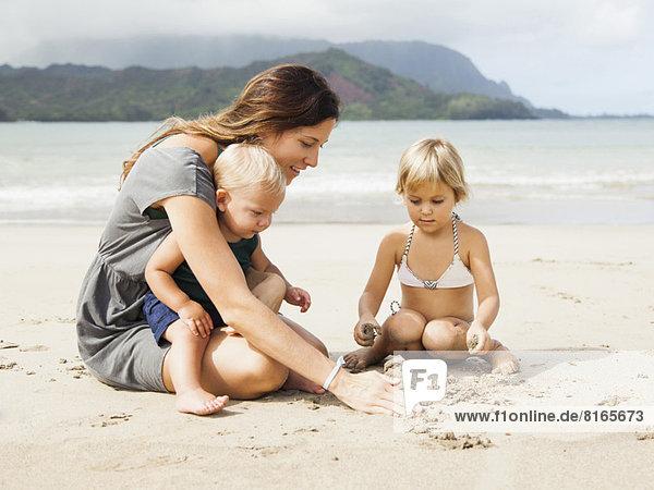 Spiel  Tochter  Mutter - Mensch