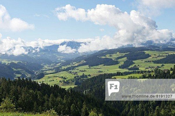 Alpen Ansicht Emmentaler Bern Schweiz