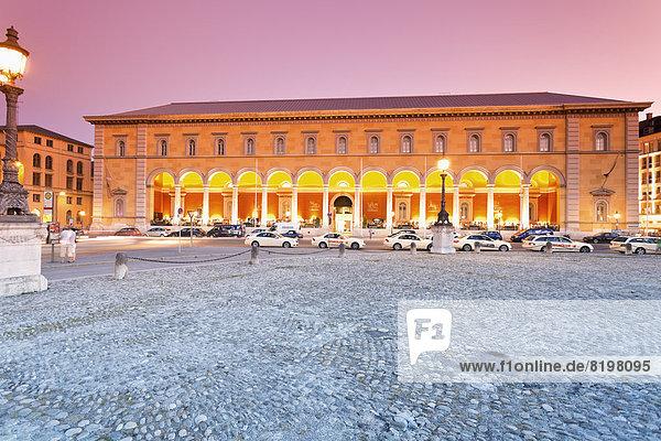 Germany  Bavaria  Munich  National Theatre and Palais an der Oper