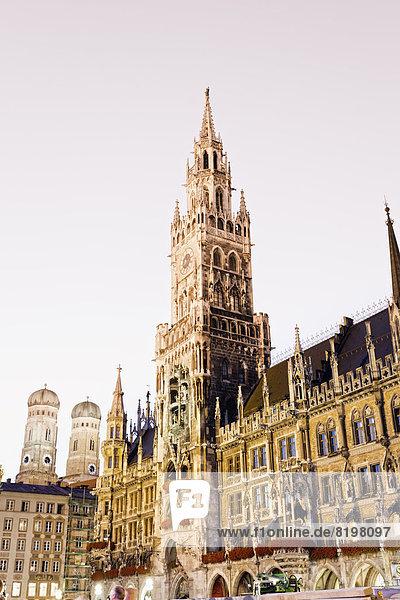 Germany  Bavaria  Munich  New Town Hall at Marienplatz