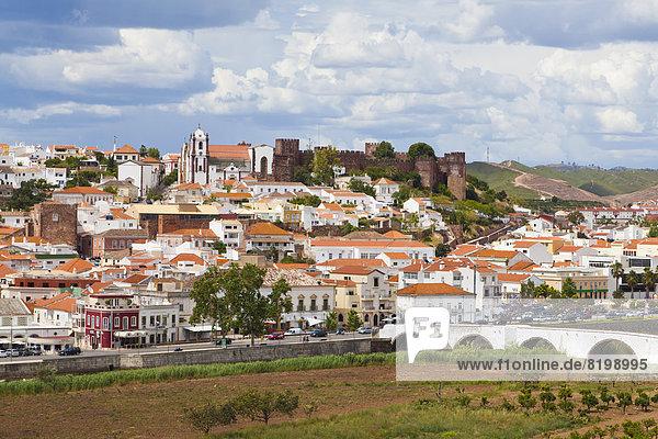 Portugal  Lagos  Blick auf das Stadtbild