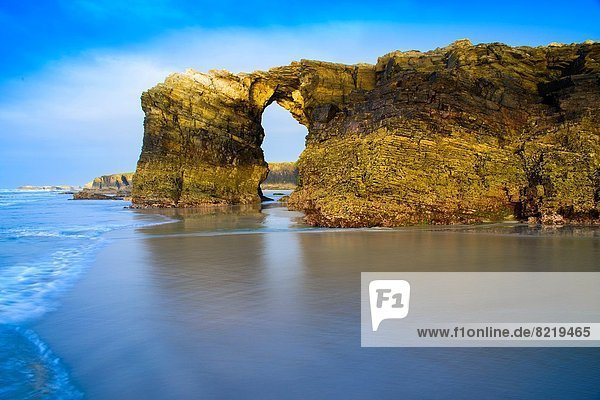 Europa  Strand  Kathedrale  Galicien  Spanien