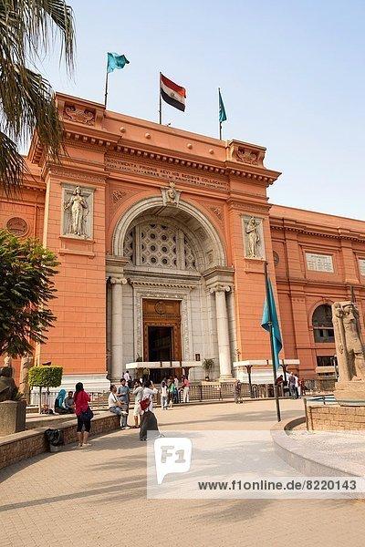 Kairo  Hauptstadt  Antiquität  Museum  Ägypten