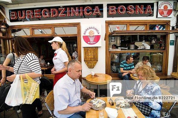 Sarajevo  Hauptstadt  Stadt  alt
