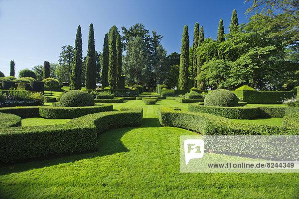 Gärten von Eyrignac  Gartenanlage des Herrenhauses Manoir d'Eyrignac