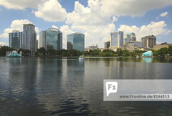 Skyline Orlando  vom Lake Eola