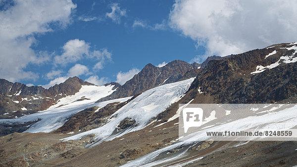 Italien  Südtirol  Schnals  Hochjochferner Gletscher
