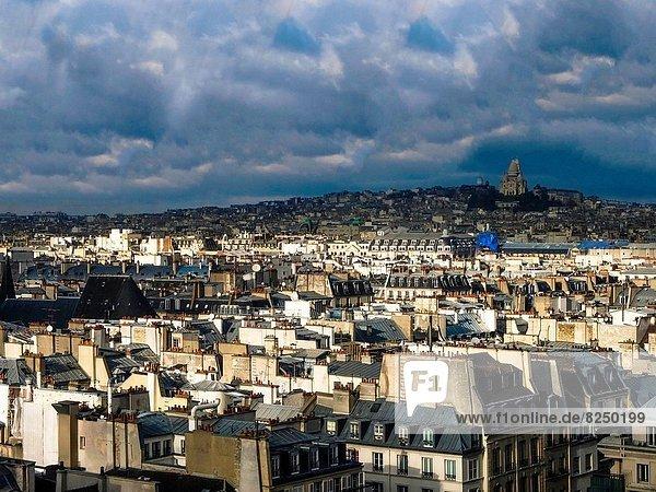 Paris Hauptstadt Frankreich Ansicht