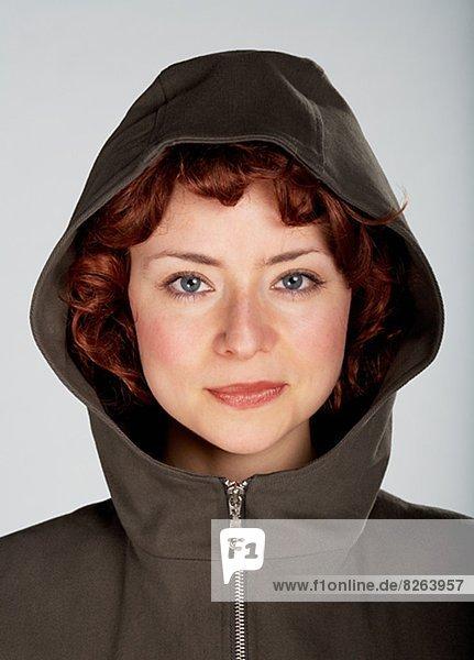 Portrait  Frau  rothaarig