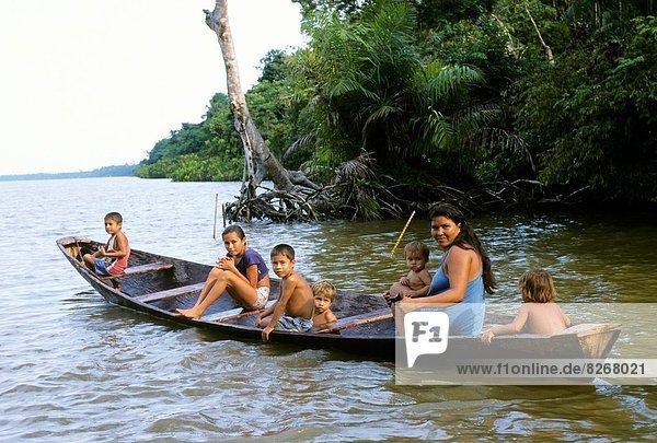 Kanu  Mutter - Mensch  Brasilien