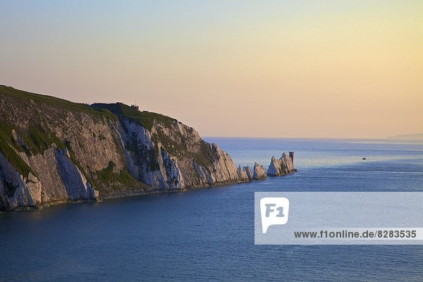 Die Nadeln  die Isle Of Wight  England  Vereinigtes Königreich  Europa