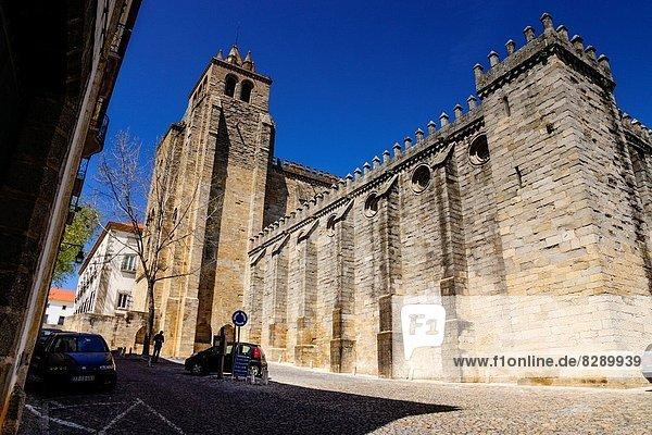 Cathedral  -Basilica of Nossa Senhora da Assunçao  XIII Century  Evora  Alentejo  Portugal  Europe.