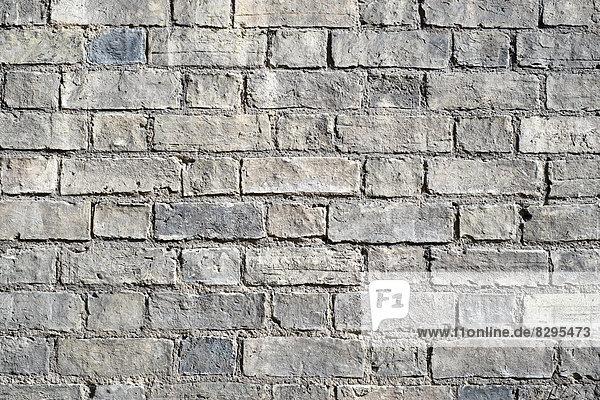 Großbritannien  England  Backsteinmauer