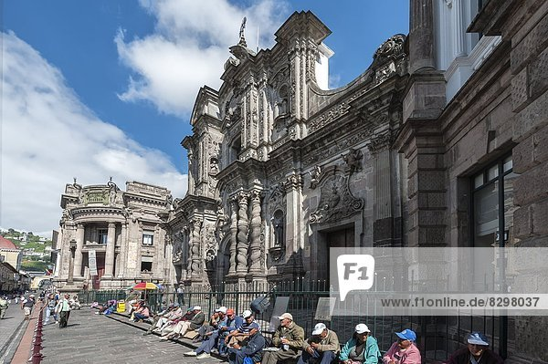 Quito  Hauptstadt  UNESCO-Welterbe  Ecuador  Südamerika