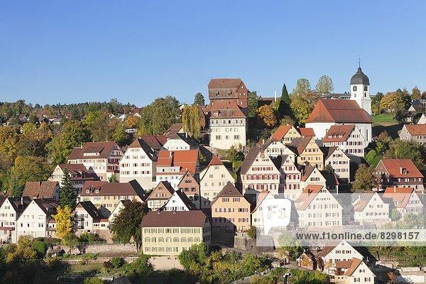 Europa Altensteig Schwarzwald Deutschland Baden-Württemberg