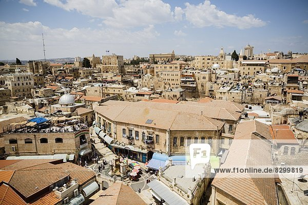 Jerusalem  Hauptstadt  Naher Osten  UNESCO-Welterbe  Israel