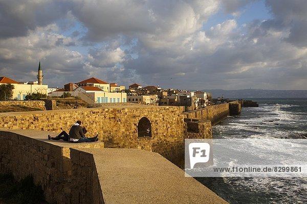 Wand  Großstadt  Ansicht  Naher Osten  UNESCO-Welterbe  Israel  alt