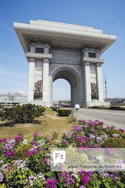 Arch of Triumph  Pyongyang  North Korea (Democratic People's Republic of Korea)  Asia