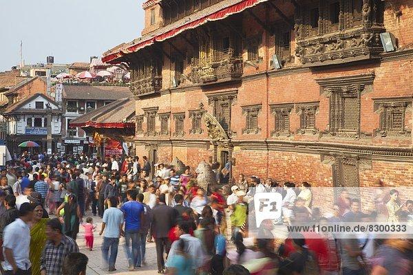 Kathmandu  Hauptstadt  UNESCO-Welterbe  Asien  Durbar Square  Nepal  Patan