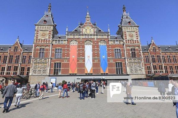 Amsterdam  Hauptstadt  Europa  Niederlande