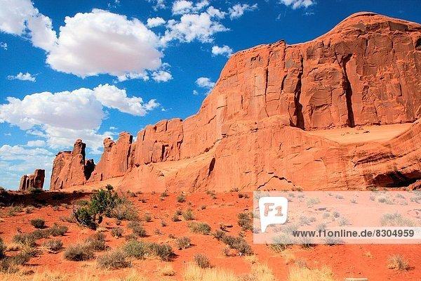 Vereinigte Staaten von Amerika  USA  Arches Nationalpark  Park Avenue  Moab  Utah