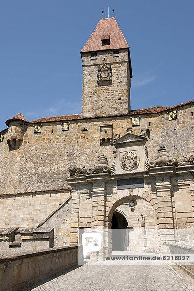 Eingangstor und Bulgarenturm  Veste Coburg