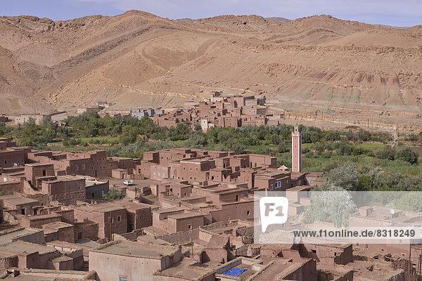 Ksar  fortified city  Road of the Kasbahs